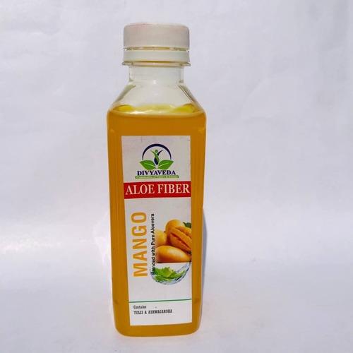 Mango and Aloe Fiber juice