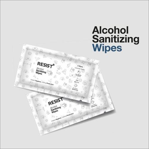 Disposable Alcoholic Sanitizing Wipes