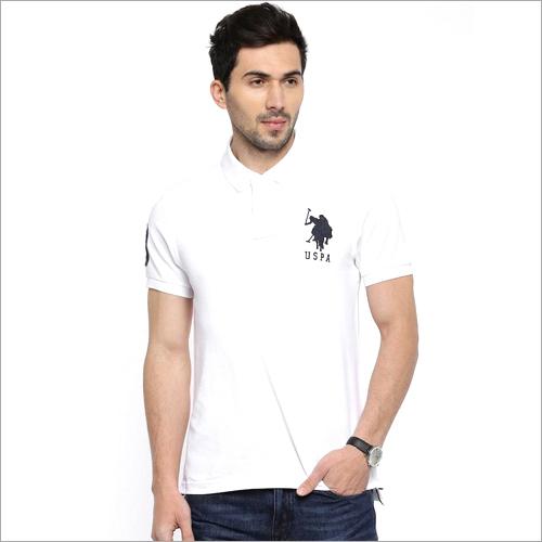 Men Plain Polo T shirt