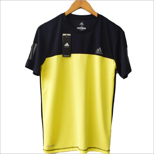 Mens Polyester Sports Cuttens T shirt
