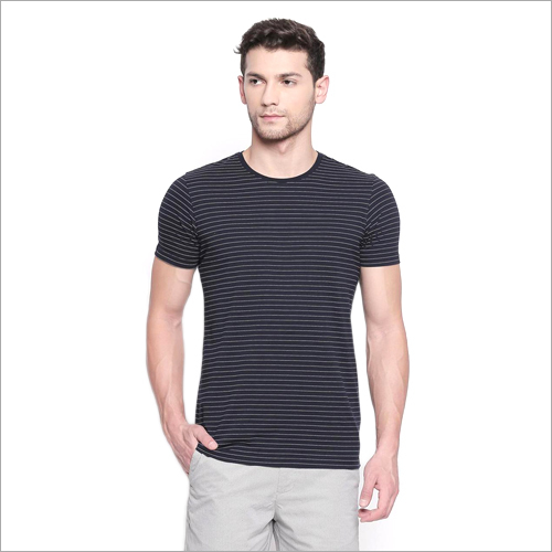 Mens Round Neck Plain T shirt