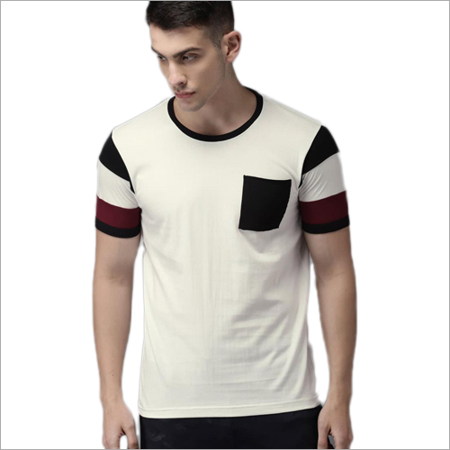 Mens Cotton Round Neck T shirt