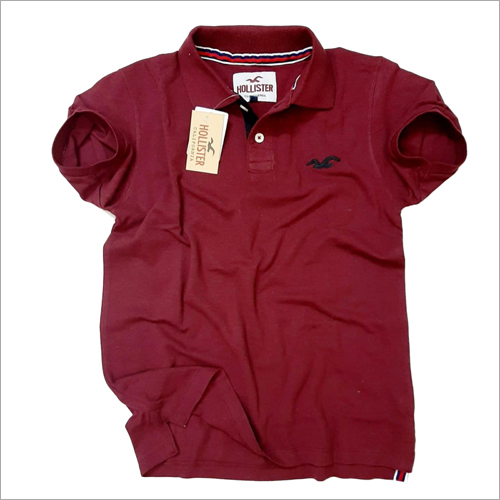 Mens Plain Polo Pique T shirt