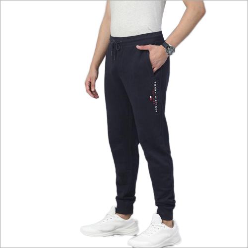 Mens Cotton Track Pant With Cuff