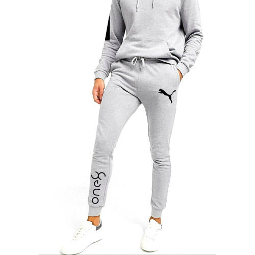 Mens Cotton Joggers Pant With Cuff