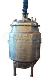 Stainless Steel Preparation Vessel