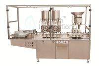 Dry Powder Filling Machine for Glass Bottles