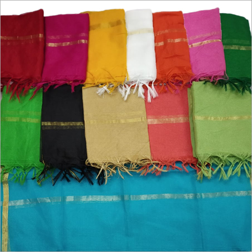 Ladies Munga Check Dupatta
