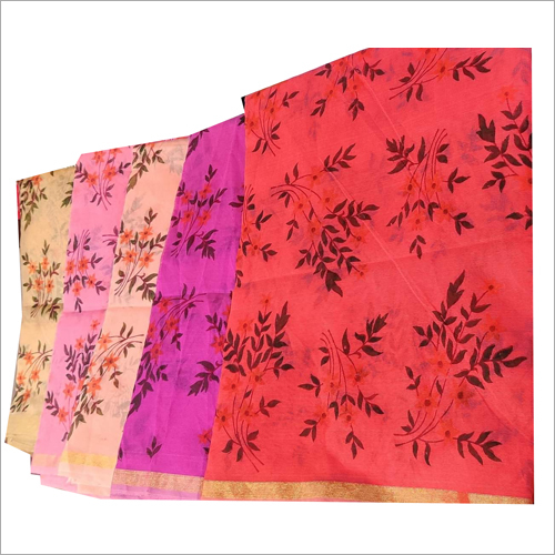 Ladies Flower Print Dupatta