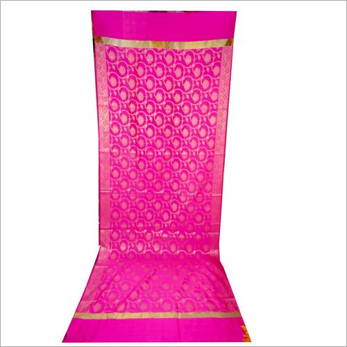 Ladies Pink Jakat Tapeta Fancy Dupatta
