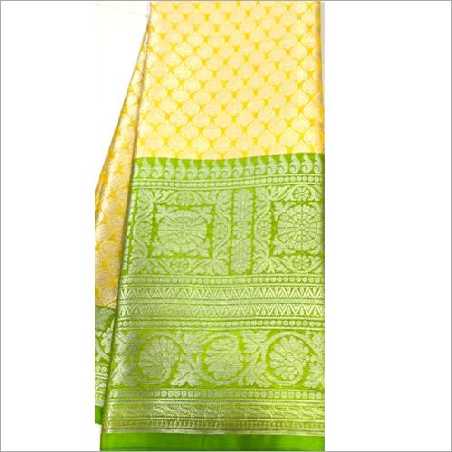 Double Shaded Fancy Silk Saree