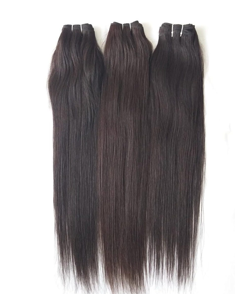 Brazilian Soft Straight Natural Colour Hair