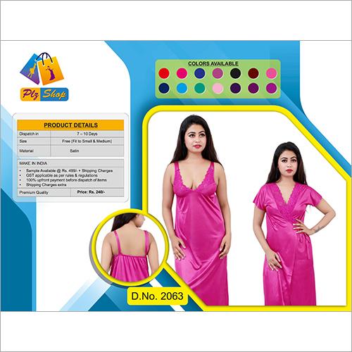 Ladies 2 Piece Night Dress 2 Piece Set