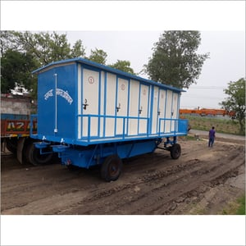 10 Seater 40mm Puff Mobile Toilet Van