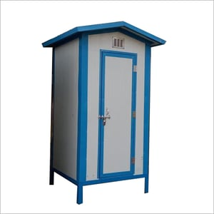 Single Seater Readymade Toilet Cabin