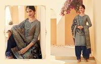 Kalaroop Sunheri By Patiyala Vol 4 Jam Silk With Work Readymade Suit Catalog