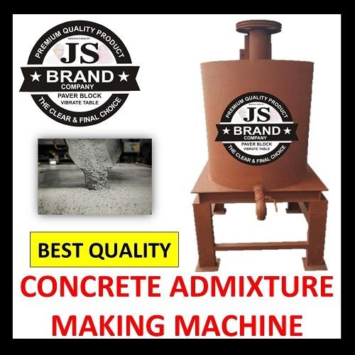 Concrete Admixture Making Machine