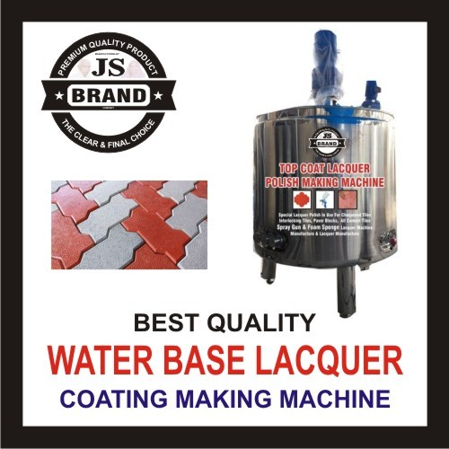 Water Base Lacquer Coating Making Machine