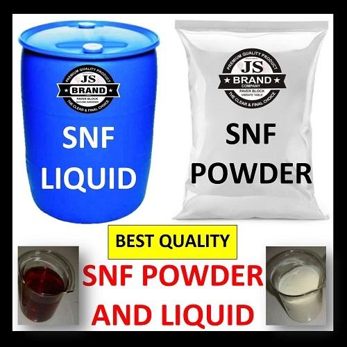 SNF Powder and Liquid