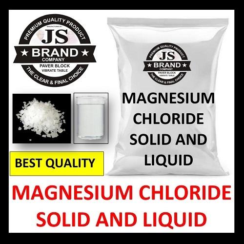 Magnesium Chloride Solid and Liquid