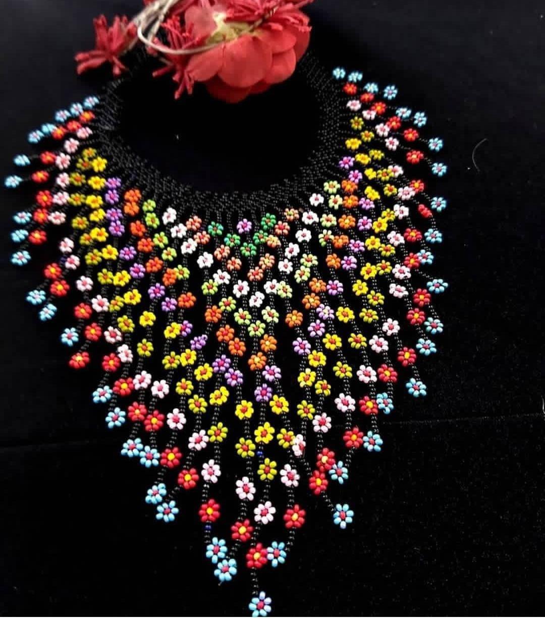 Floral Necklace Set