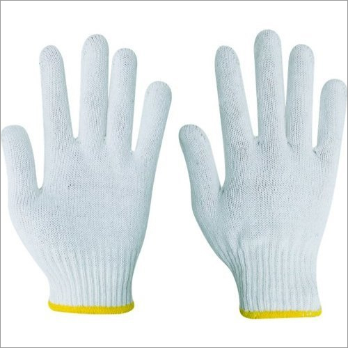 Pure Cotton Knitted Hand Gloves