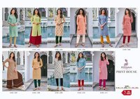 PRINT HOUSE KADHI COTTON KURTIS
