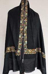 Handembroidered Pure and Premium Kashmiri pashmina shawl