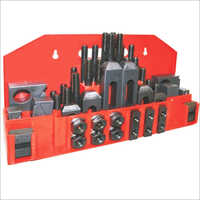 Clamping Kit - 58 Piece With Step Blocks and Stepped Strap Clamps