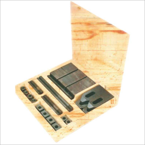 Clamping Kit - 34 Piece With Adjustable Support Plates and Strap Clamps
