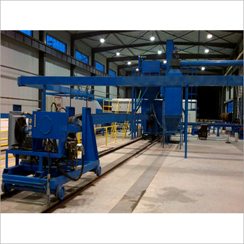 The Inner Wall Of The Steel Pipe Rust Cleaning Equipment