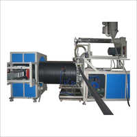 Huge Calibre Hollow Wall Winding Pipe Extrusion Line