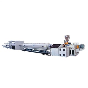 Twin Conical Screw Plastic Extruder