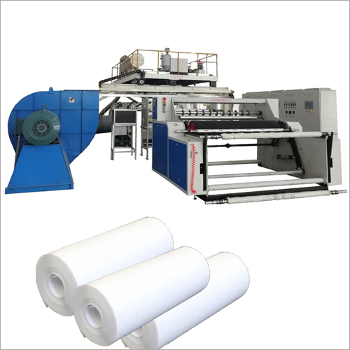 Automatic Melt Blown Fabric Making Machine