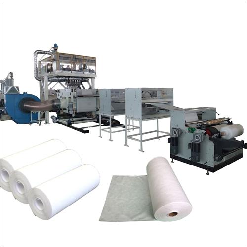 PP Nonwovens Fabric Polypropylene Melt Blown Extruder Machine