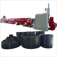 1200mm HDPE Pipe Production Line Pe Pipe Extruder Making Machine