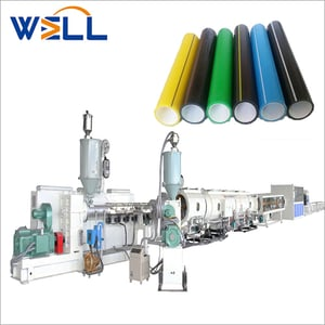 110-315mm Large Diameter Plastic HDPE Pipe Extrusion Production Line PE Tube Making Machine