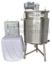 Shampoo Procesing Vessel