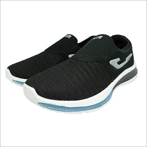 Men Black Without Lace Sport Shoes