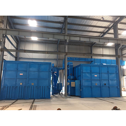 Blast Room & Paint Booth System