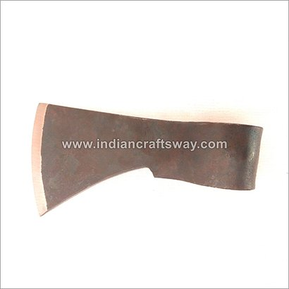 Hand Forged Viking Axe Head Length: 6 Inch (In)