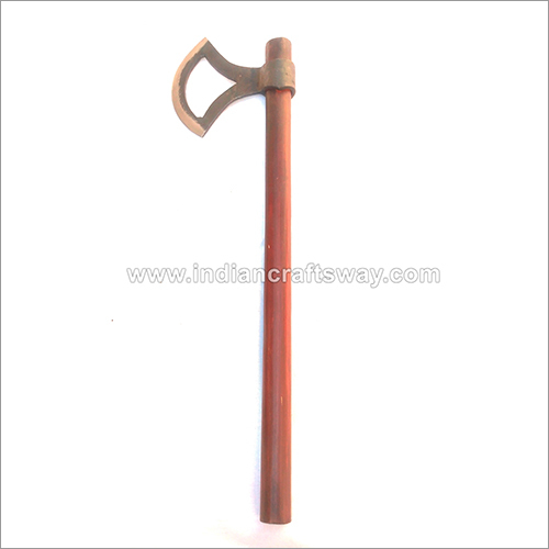 Hand Forged Viking Heartless Axe With Genuine Leather Cover