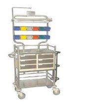 Labcare Export S.S. Crash Cart