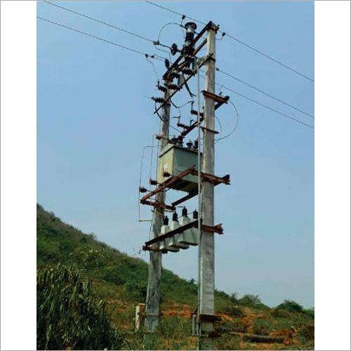 714 Kvar 12Kv External Fuse Pole Capacitor Bank