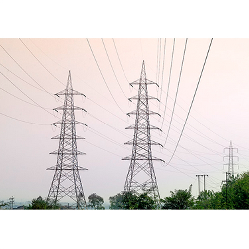 Substation Structures And Transmission Line Tow