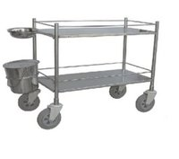 Labcare Export S.S. Dressing Trolley