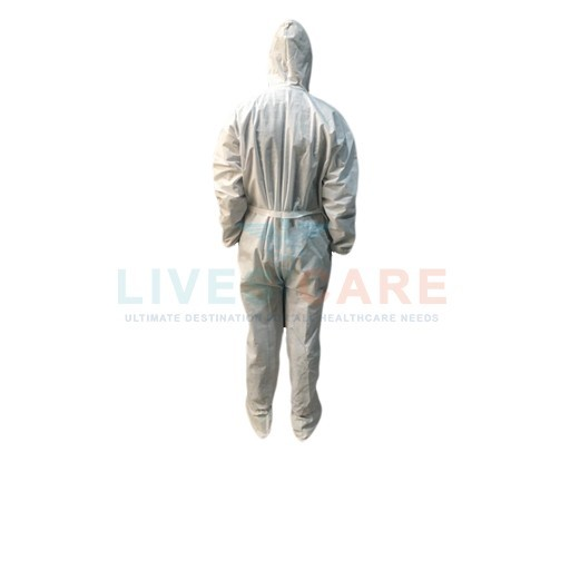 Coverall with Hood and Shoe Cover