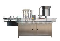 Plastic Vial Filler and Capper