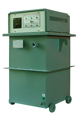 15 kVA to 200kVA Automatic AC Voltage Stabilizer Single Phase - Oil Cooled