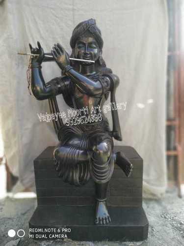 Marble Black Krishna Statues